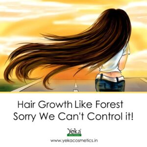 HAIR GROWTH LIKE FOREST SORRY WE CANNOT CONTROL IT